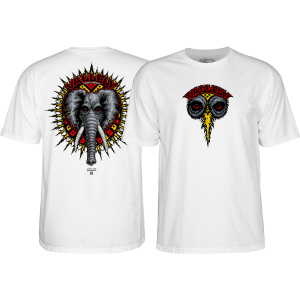 Powell Peralta 'Mike Vallely' White T-Shirt