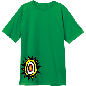New Deal 'Sun Logo' Kelly Green T-Shirt