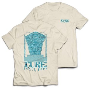 Cure 'Temple' Natural T-Shirt