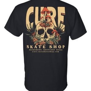 Cure 'Earth' Black T-Shirt