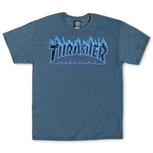 Thrasher 'Flame' Dark Heather T-Shirt