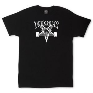 Thrasher 'Skate Goat' Black T-Shirt