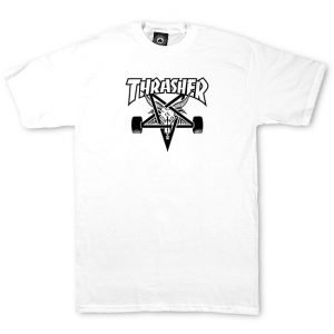 Thrasher 'Skate Goat' White T-Shirt
