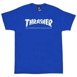 Thrasher Magazine Royal Blue T-Shirt